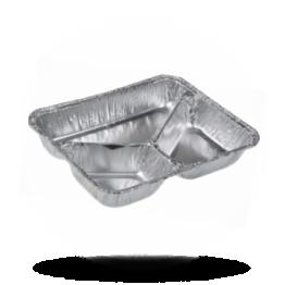 Aliminium menubakken 785/R 960 G, 3-vaks