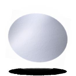 Aluminium-karton deksels C 1000 L rond