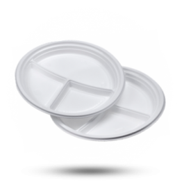 Borden 3-vaks, plastic