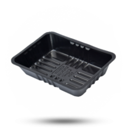 Bami-Nasibakjes A50/30, plastic, zwart