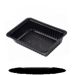 Patatbakjes A13, plastic, zwart