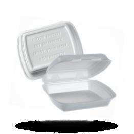 Menuboxen 1-vaks, wit