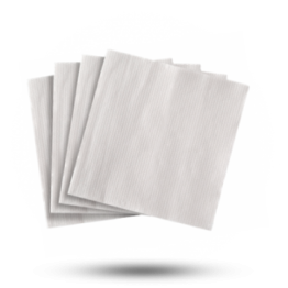 Servetten 33x33cm 1-laags wit