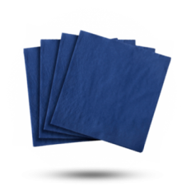 Servetten 33x33cm 3-laags, Royal blue