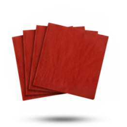 Servetten 33x33cm 3-laags, Velvet bordeaux red
