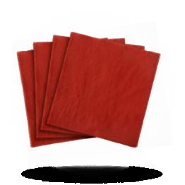 Servetten 40x40cm 3-laags, Velvet bordeaux red