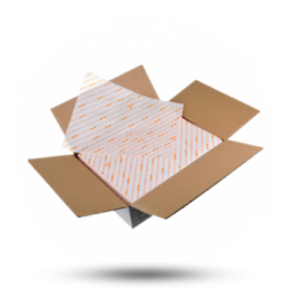 Hamburgerpapier 25x33cm, oranje