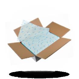 Hamburgerpapier 25x33cm, blauw