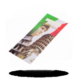 Bestek pochet Italiaanse print