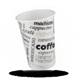 Kartonnen koffiebekers 300cc Coffee to go bedrukt