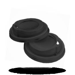 Deksels voor koffiebeker Zwart, Coffee to Go, voor 200/300mm beker