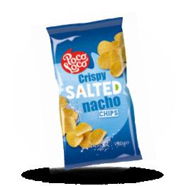 Nacho chips Naturel, gezouten, rond