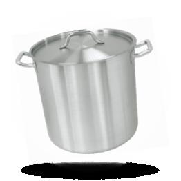 Hoge kookpan RVS, Ø 24cm, 10,5L