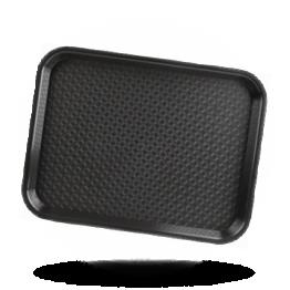 Dienblad zwart 34,5x26,5cm