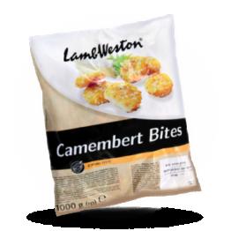 Camembert bites Knapperige camembert snack, diepvries