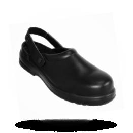 Veiligheidsklompen Zwart, maat 42