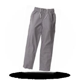 Unisex koksbroek Zwart/wit geruit XL