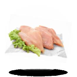 Kipfilet zonder vet 140g+, Halal, Thailand, diepvries