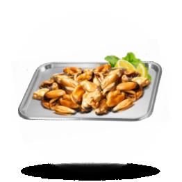 Chileens mosselvlees 200/300, gekookt, diepvries