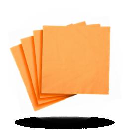 Servetten 33x33cm 1-laag, oranje
