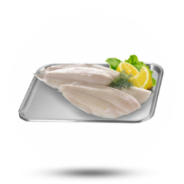 Dubbeldekker scholfilet 140-160g, naturel, diepvries