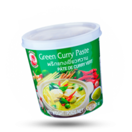Curry pasta Groen