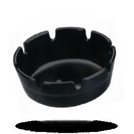 Asbak melamine Zwart, 10cm