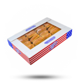 Hotdogbroodje 64st, diepvries