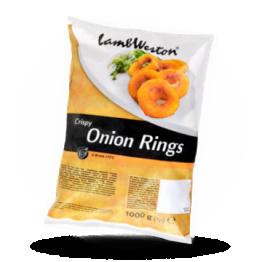 Crispy onion rings Diepvries