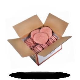 Hamburgers Gekruid, 125g per stuk, diepvries
