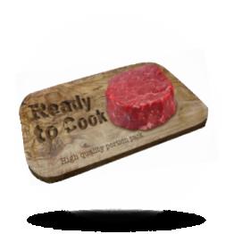 Ossenhaas biefstuk Per portie verpakt, diepvries