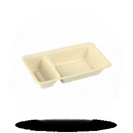 Snackbakje A22 (A9+1), bagasse