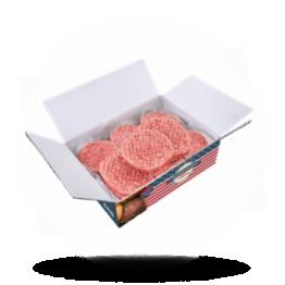 Gekruide hamburgers Halal, diepvries